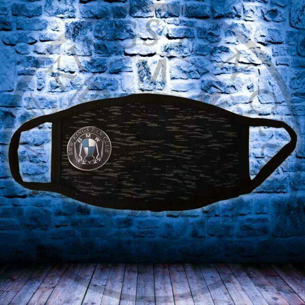Μάσκα BMW KINGS Μαύρη Με Νερά